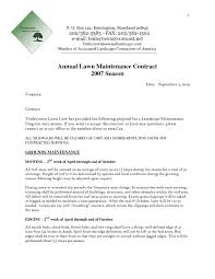 Cleaning Service Agreement Template Landscaping Contract Template Free Lawn Contract11 Jpg Sales Word