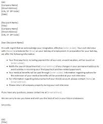 general resume acceptance letter resignation cover letter and