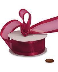 sheer organza ribbon don t miss this bargain wholesale sheer satin wine arabesque ribbon
