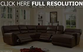 Sectional Sofa With Recliner Leather Sectional Sofa With Recliner And Chaise Tehranmix Decoration