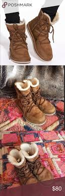 womens ugg lodge boot ugg lodge chestnut lace up boot ankle boots closure and ankle