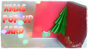 how to make a christmas card 3d christmas card youtube