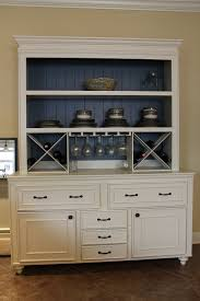 custom built buffet w hutch u0026 wine rack china cabinet built in