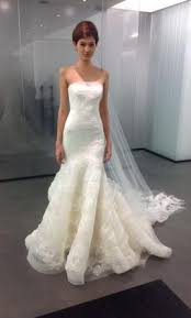 wedding dress vera wang vera wang leda 3 600 size 8 used wedding dresses