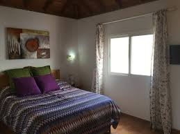 Schlafzimmer La Luna M El La Palma 24 Ferienunterkunft Casa Amarna