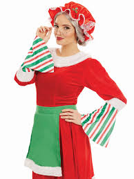 mrs claus costumes traditional mrs claus costume fs4222 fancy dress