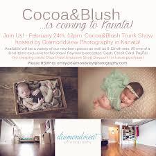 Newborn Photography Props Cocoa U0026blush Trunk Show U2013 Kanata Ontario U2013 Newborn Photography