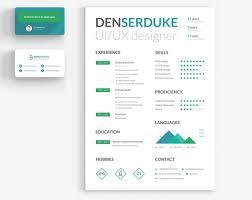 Ui Ux Resume 15 Free Creative Resume Templates For Photoshop And Illustrator
