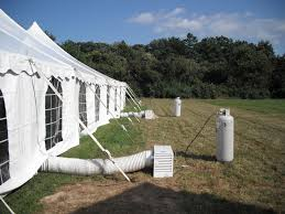heated tent rental tent heaters for autumn air michael s party rentals inc