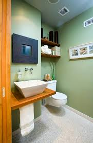 One Piece Bathroom Sinks - great choices of fancy colors for a small bathroom u2013 decohoms
