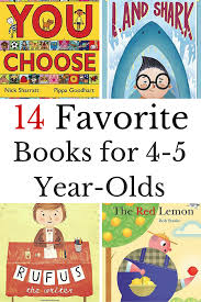 favorite books for 4 5 year olds