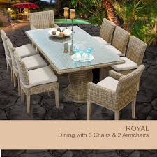 Dining Room Set With Royal Chairs 8 Chair Dining Table