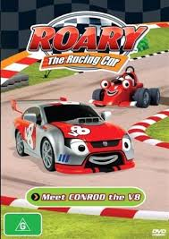 roary racing car meet conrod v8 animated dvd sanity