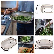 over the sink colander 4qt colander stainless steel over sink pasta fruit beans strainer