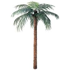 12 foot artificial coconut palm with trunk p 297