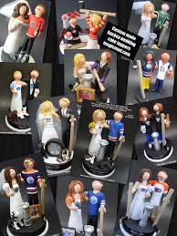hockey cake toppers detroit wings hockey wedding cake topper nhl hockey wedding