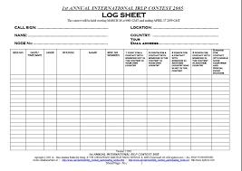 sample log sheet log sheet templates sample log sheet driver log