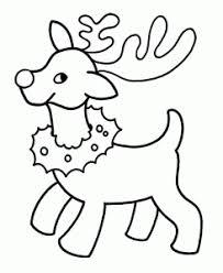 christmas santa u0027s reindeer coloring pages crafts and worksheets