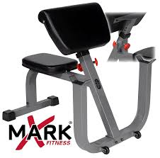 amazon com xmark seated preacher curl weight bench xm 4436