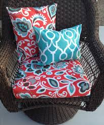 Garden Chair Cusions Decor Mesmerizing Stripped Colorful Pattern Outdoor Cushion