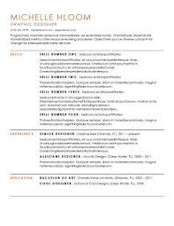 Resume Templates Simple Resume Templates 75 Exles Free
