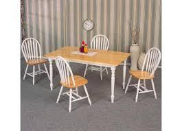 X Leg Dining Table Coaster Damen White Natural 36 X 60 Rectangle Leg Dining Table Set