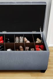 Storage Ottoman Bench Best Shoe Storage Ottoman What Is A Shoe Storage Ottoman