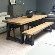 Dining Room Tables With Benches Kitchen Tables With Bench Garno Club