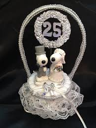 25th anniversary cake toppers snoopy wedding cake topper idea in 2017 wedding