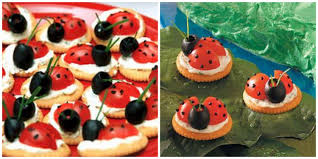 receta de mariquitas con queso y tomate decorativas pinterest