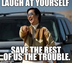 Hangover Meme - chow laughing hangover meme generator imgflip
