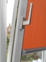 luxaflex nano roller in vivid orange ideal for tilt and turn