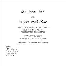 wedding invitations exles evening wedding invitation templates evening invitation wording