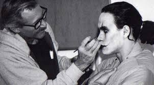 brandon lee in make up for the crow the crow happy the edge and over the