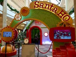 shopping and santa photos in northern virginia