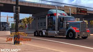 kenworth w900b san francisco khross custom skin kenworth w900 mod for american