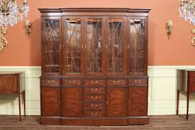 china cabinet traditional china cabinets breakfront display