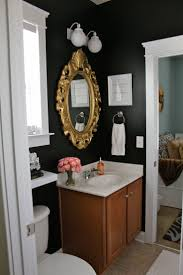 Eclectic Bathroom Ideas Black And Gold Bathroom Decor Room Gold Black Bathroom Black And
