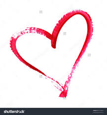 Heart Decorations Home Painted Heart Stock Photos Images Pictures Shutterstock Outline