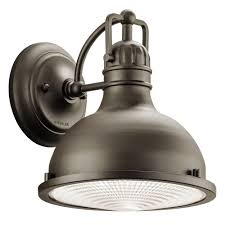 Cape Cod Outdoor Lighting by Industrial Style Led Outdoor Wall Light With Fresnel Diffuser