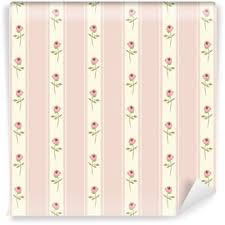 Shabby Chic Kitchen Wallpaper by Cute Seamless Shabby Chic Pattern With Roses And Polka Dots Ideal