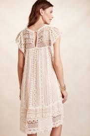 maeve clothing lyst maeve crochet tunic dress in