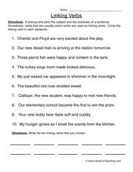 Verb Worksheets Verb Worksheets Teaching