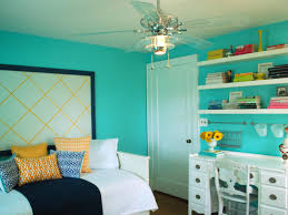 beautiful color for room painting ideas with big electic fan and