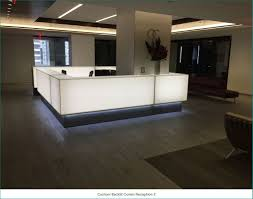 Small White Reception Desk by Reception Desks Ada Compliant Arnold Contract Ardesk Com L