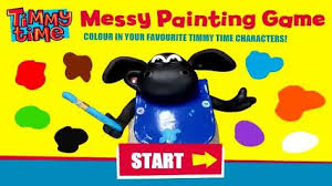 timmy messy painting game apricot 3d video video