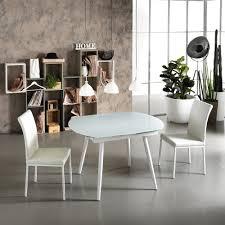 Table De Cuisine En Verre Avec Rallonge by Tables Extensibles En Verre Design Italien