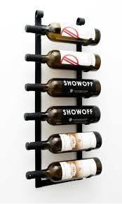 vintageview le rustique 6 bottle decorative wine rack u2013 premier