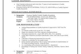 Quality Control Manager Resume Sample by Quality Manager Resume Samples Reentrycorps