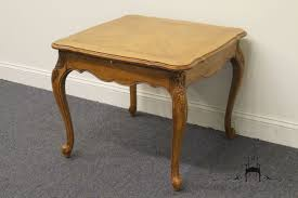 Drexel End Table by High End Used Furniture Drexel Heritage Cherbourg Country French